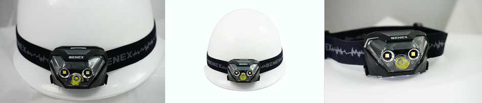 ET-1326 6W Spot / Flood Beam  LED Headlamp