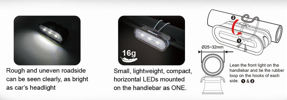 ET-3131-Modern Bike Front Light