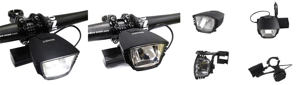 ET-3150 K-Mark 60Lux 5W Bike Front Light