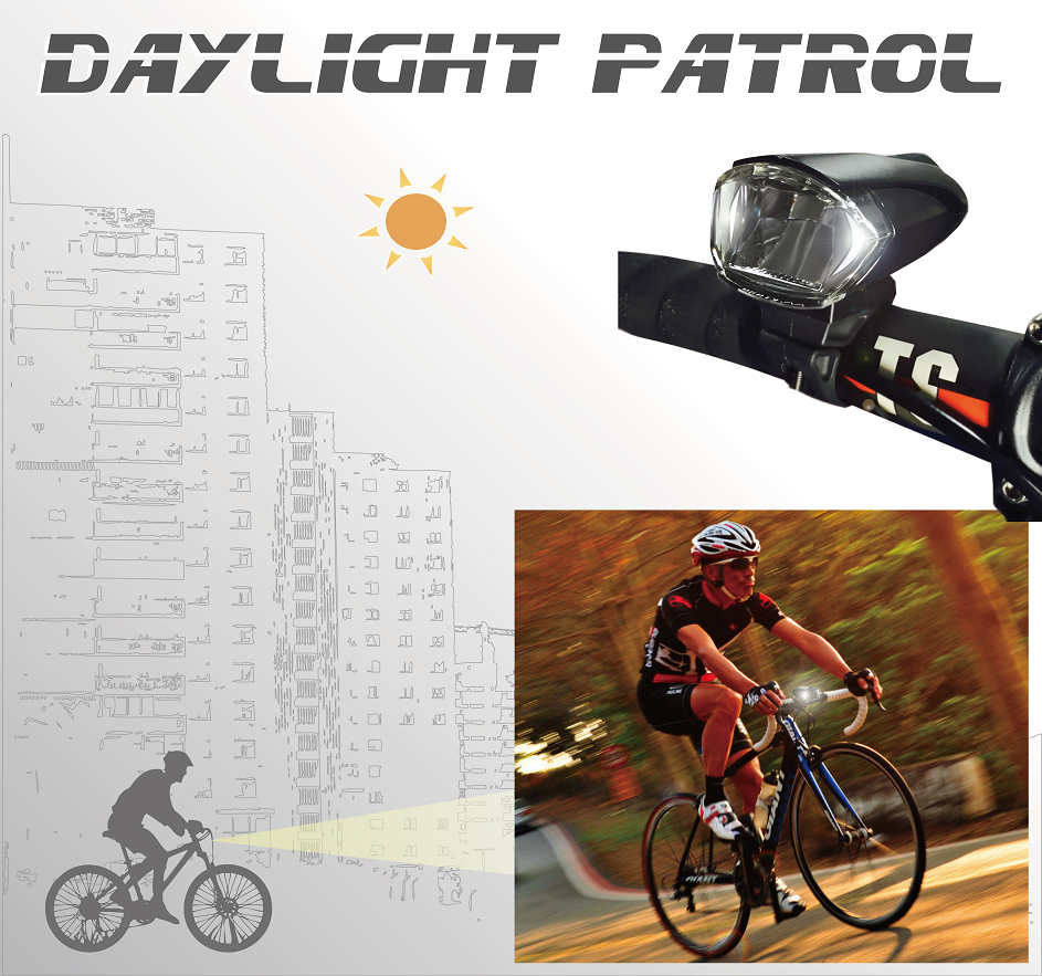ET-3171-AD LED Bike light